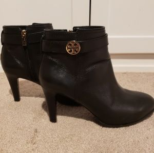 Tory Burch Bristol Ankle Boots Black Size 9